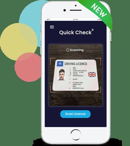 DAVIS QC App Screen with phone-5